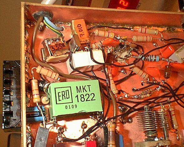 You are browsing images from the article: CW Transmitter: Modifications