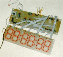 You are browsing images from the article: LED clock