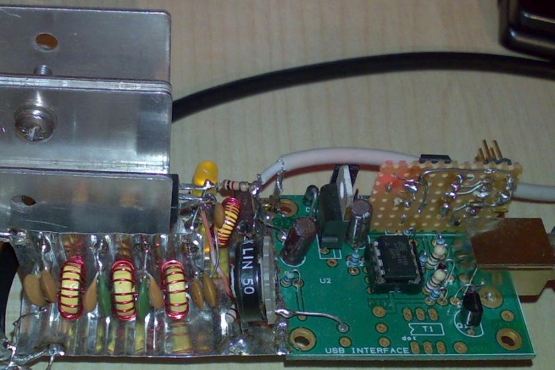 You are browsing images from the article: 30m QRSS Si570 beacon: construction