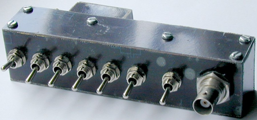 You are browsing images from the article: Spectrum analyser input attenuator