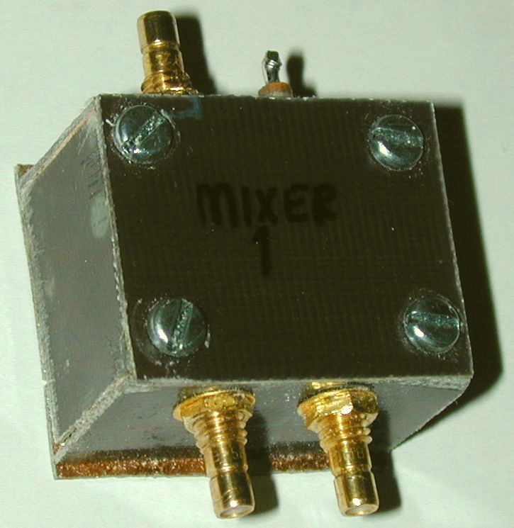 You are browsing images from the article: Spectrum analyser 1st mixer