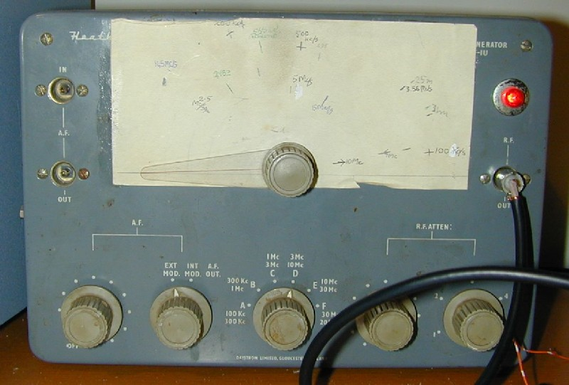 You are browsing images from the article: Spectrum analyser