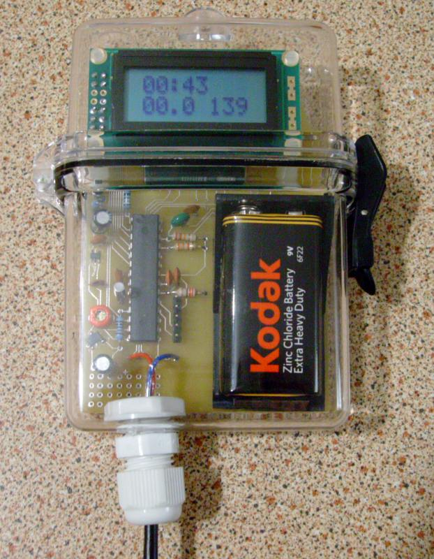 You are browsing images from the article: Wind speed logger Mk2